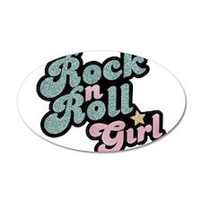 Rock N Roll Girl Wall Decal