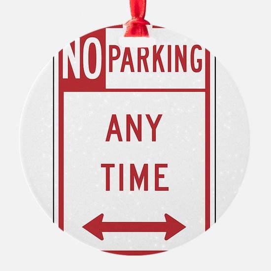 No Parking Ornament