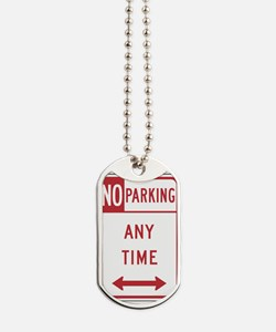 No Parking Dog Tags