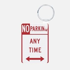 No Parking Keychains