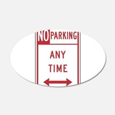 No Parking Wall Decal