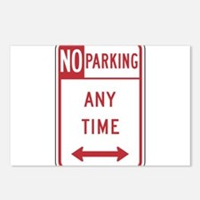 No Parking Postcards (Package of 8)