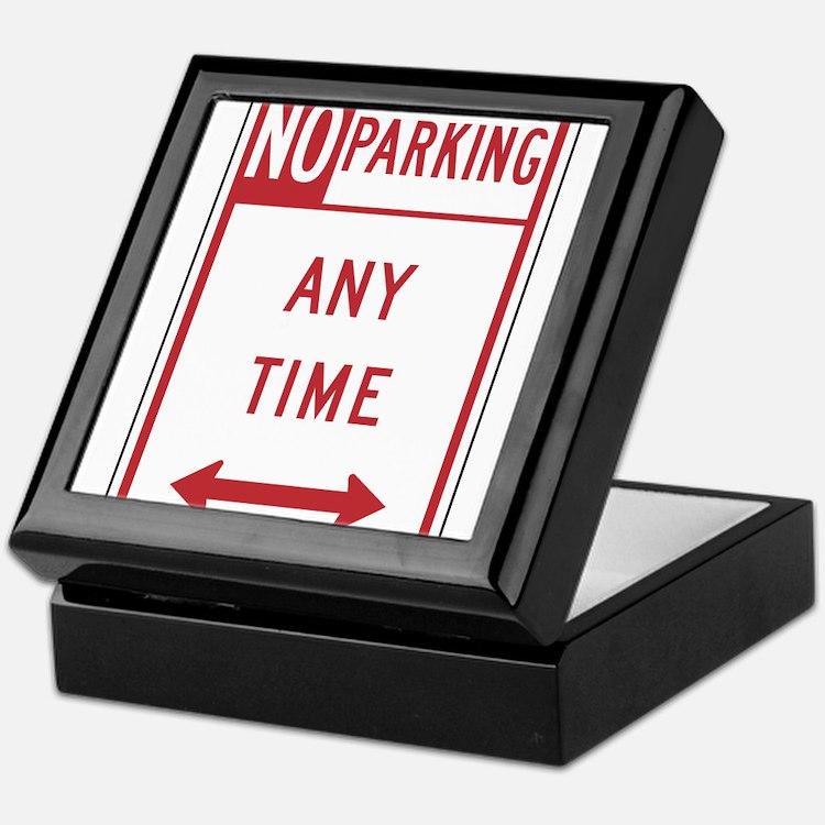 No Parking Keepsake Box