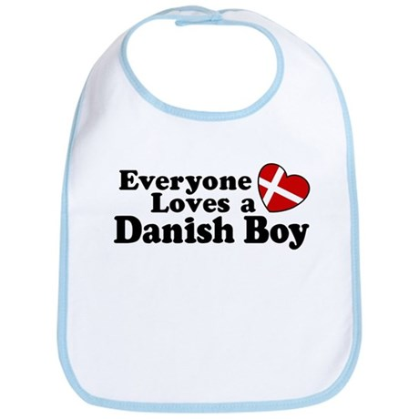 Everyone Loves a Danish Boy Bib