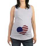 4th july Maternity Tank Top