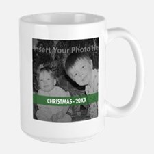Modern Christmas Green Mugs
