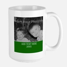 Completely Custom Green Mugs