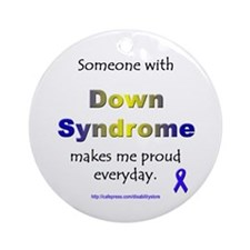 """Down Syndrome Pride"" Ornament (Round)"