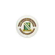 701st Military Police Bn w Text Mini Button (100 p