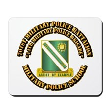 701st Military Police Bn w Text Mousepad
