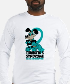 Tourette's Superpower Long Sleeve T-Shirt