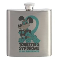 Tourette's Superpower Flask