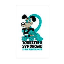 Tourette's Superpower Decal