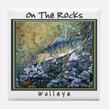 Walleye Rocks<br>Tile Coaster