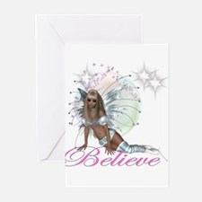 believe fairy moon.png Greeting Cards