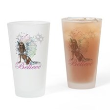 believe fairy moon.png Drinking Glass