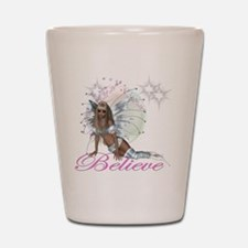 believe fairy moon.png Shot Glass