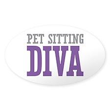 Pet Sitting DIVA Decal