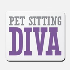 Pet Sitting DIVA Mousepad