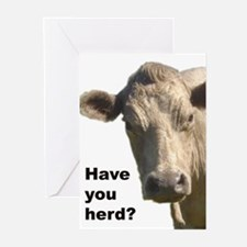 Have you herd? Greeting Cards (Pk of 10)