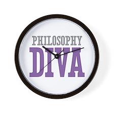 Philosophy DIVA Wall Clock