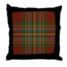 Chattan Tartan Throw Pillow