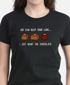 Keep Love, Give Chocolate Tee