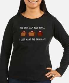 Keep Love, Give Chocolate T-Shirt