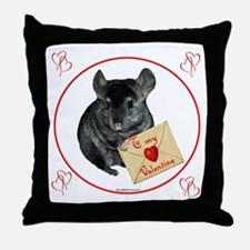 Chin Valentine Throw Pillow