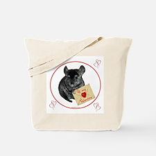 Chin Valentine Tote Bag
