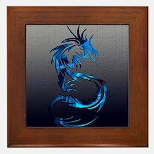 dragon tribal  Framed Tile