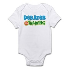 Debater in Training Infant Bodysuit