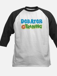 Debater in Training Kids Baseball Jersey