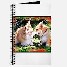 Happy Holiday Corgis Journal