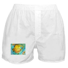 Fish! colorful tropical fish, art Boxer Shorts