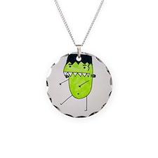 """""""FrankenPea"""" Monster Necklace"""