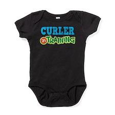 Curler in Training Baby Bodysuit