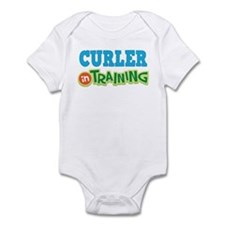 Curler in Training Infant Bodysuit