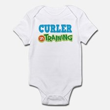Curler in Training Infant Bodysuit
