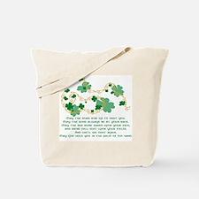 Irish Blessing Tote Bag