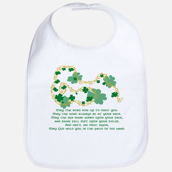 Irish Blessing Bib