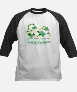 Irish Blessing Kids Baseball Jersey