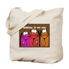 Whimsical Cats 5 Tote Bag
