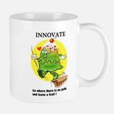 INNOVATE CARTOON QUOTE Mugs