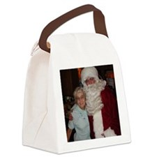 Helen and Santa Canvas Lunch Bag