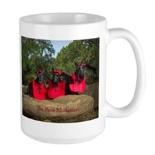 Three Musketeers Mugs