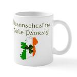 Gaelic & Map of Ireland Mug