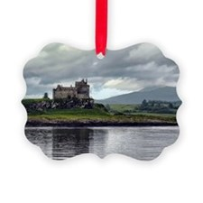 Duart Castle, Scotland Picture Ornament