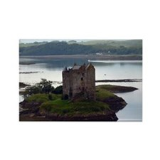 Castle Stalker, Scotland Rectangle Magnet