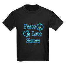 Peace Love Sisters T